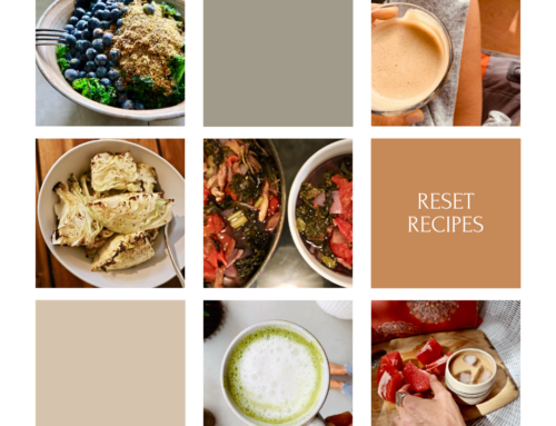 Reset Recipes – May Body Rest 2021