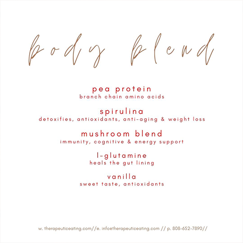 Body Blend (protein) by Katie Trussell