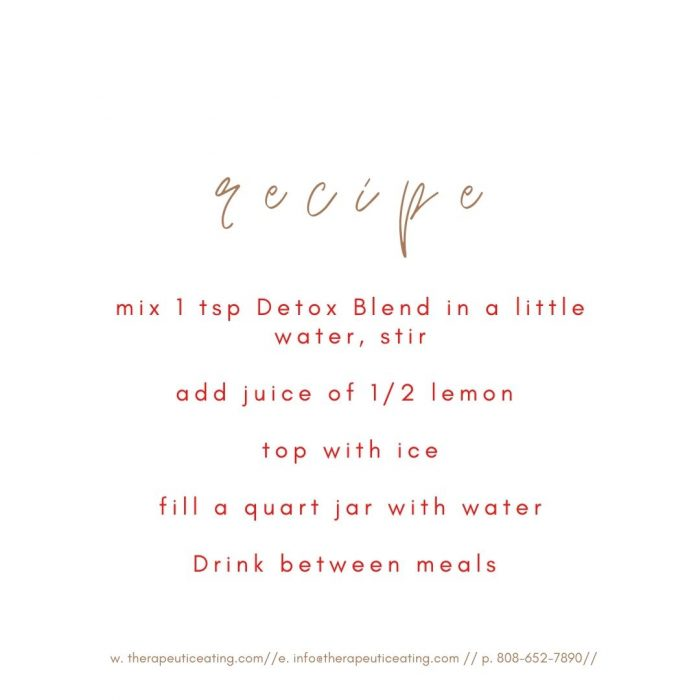 Detox Blend (protein) by Katie Trussell